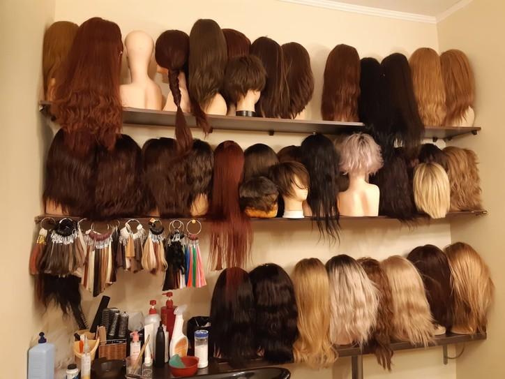 Цвета системы волос